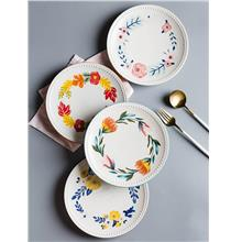 Four Seasons Ceramic Serving Plates Tableware Home Kitchen Decoration