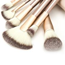 READY STOCK!12 pieces Cosmetic Soft Brush Makeup Set with Bag