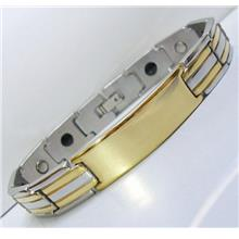 OPUZS GP Stainless Steel Magnetic Bracelet Bio Health Therapy