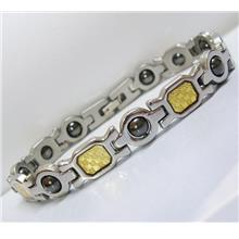 CODZA GP Stainless Steel Magnetic Bracelet Bio Health Therapy