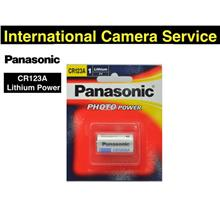 Panasonic CR123 / CR123A 3V Lithium Power Photo Battery