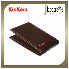 Kickers KIC88493A Leather Card Holder Mini Pocket Wallet (Small)
