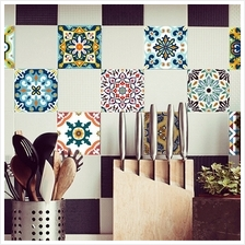 10 Pcs/Set Self Adhesive Tile Stickers (Design 70)
