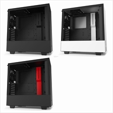 # NZXT H510i Premium Tempered Glass Mid Tower Case # Black/White/Red