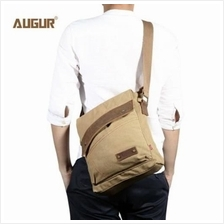 AUGUR 9088 CANVAS CROSS BODY SINGLE SHOULDER LAPTOP BAG WITH DURABLE STRAP (KH