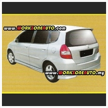LLPU4009 Honda Jazz 2003 PU Rear Skirt (Modulo)