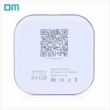 DM S3 WFD015 64GB WIRELESS WIFI PHONE U DISK EXPANSION FOR IPHONE IPAD IOS / A