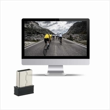 Mini ANT+ USB Stick Adapter for Garmin for Zwift for Wahoo (black)