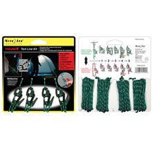 Nite Ize Figure 9 Small Tent Line Kit - 4pc Pack w Rope
