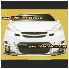 LL8231(DL-027) Perodua Alza Fiber Front Bumper With 3 Inches Fog Lamp (Tommy K
