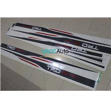 Toyota Vios (2nd Gen) TRD Sportivo Car Body Sticker