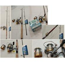 CELLY Carbon Victory spin 7ft Rod combo set with SpinFocus GT2500