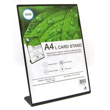 A4 Card Stand for Exhibition,Menu Display,Photo,Durable