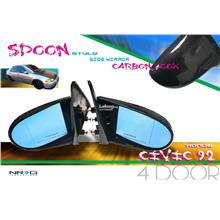 SPOON style side mirror HONDA CIVIC EG 4 door