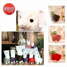 65cm Fluffy Alpaca Grass Mud horse Plush Toy Suitable For Children