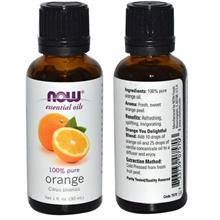 100% Pure Orange Essential Oil, Made in USA (30ml)