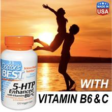 5-htp Enhanced w Vitamin B6 & C L-tryptophan 5htp (Depression 120Vcap)