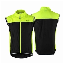 ARSUXEO Men's Ultrathin Lightweight Sleeveless Coat Jacket Running Cycling Ves
