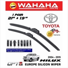 TOYOTA HILUX 2004 - 2015 OPT7 Car EU Silicon Wiper 21'+19'