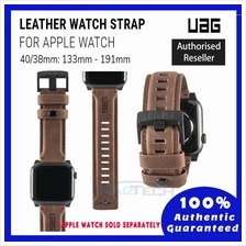 Original UAG Leather Strap for Apple Watch 40mm  & 38mm, Series 4/3/2/1, Leath