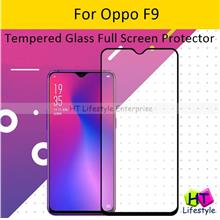 Oppo F9 Tempered Glass Full Screen Protector