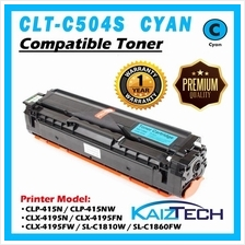 Samsung 504 504S CLT-C504S CYAN Compatible Laser Toner Cartridge For Printer C