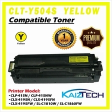Samsung 504 504S CLT-Y504S Yellow Compatible Laser Toner Cartridge For Printer