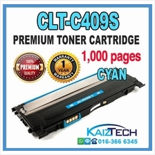 Samsung 409 / CLT-C409S Cyan Compatible High Quality Colour Laser Toner Cartri