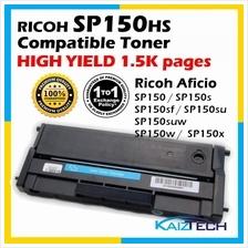 Ricoh SP150HS / SP150 HIGH YIELD Compatible Toner Cartridge For Ricoh  Aficio S