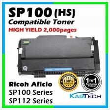 Ricoh SP100 / SP112 Compatible Toner Cartridge For Ricoh Aficio SP100e /  SP100