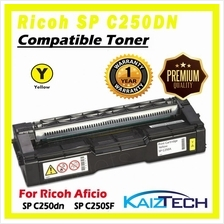 AAA Super Grade Ricoh SP C250DN, SPC 250SF Yellow Compatible Toner for  SPC250D