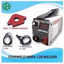 STARWELD MMA 120G ARC WELDING MACHINE WITH MAGNETIC HOLDER