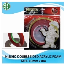 NISSHO DOUBLE-SIDED ACRYLIC FORM TAPE (10mm X 8m)