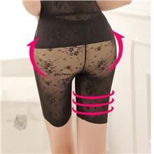 00088 Japanese Lace Traceless/ Waist/ Hip Moulding Five Slimming Pants