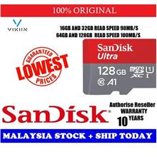 SanDisk 98MB/S ULTRA A1 Class 10 Micro SD Memory Card 128GB