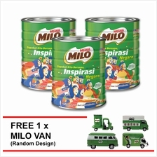 NESTLE MILO POWDER 1.5kg (Merdeka Edition) Buy 3 Free 1 Milo Van