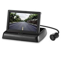Car Foldable 4.3 inch Screen Display Rear View Monitor 18.5mm Reversin..
