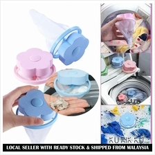 Washing Machine Lint Laundry Filter Bag Floating Lint Hair Remover Mes