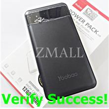 ORIGINAL YOOBAO 12000mAh PL12Pro Power Pack Air Bank iPhone XS XR X 8