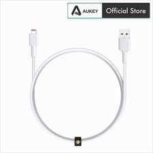 Aukey CB-BAL1 Nylon Braided MFI USB-A to Lightning Cable 2019 Version