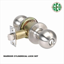 WARRIOR 5371SS Cylindrical Entrance Lock Set