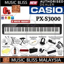 Casio Privia PX-S3000 88-key Digital Piano Musician Pack - Black