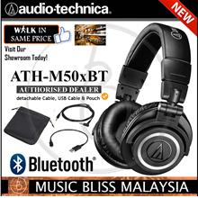 Audio Technica ATH-M50xBT Closed-back Studio Monitoring Headphones
