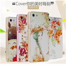 OPPO Neo 7 Neo7 A33 3D Relief Metal Frame Case Cover Casing +Free Gift