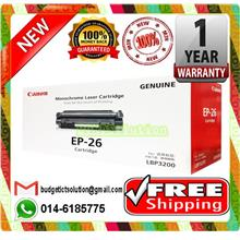 NEW CANON EP-26 EP26 BLACK Toner EP 26 (FREE SHIPPING)