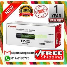 NEW CANON EP-22 EP22 BLACK Toner EP 22 (FREE SHIPPING)