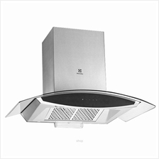 Electrolux Curved Glass Chimney Hood 90cm - EFC925GAC