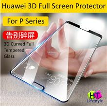 Huawei P20 Pro,P20 3D Curved Tempered Glass Full Screen Protector