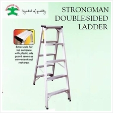 STRONGMAN 5-STEPS ALUMINIUM DOUBLE SIDED LADDER TANGGA LIPAT