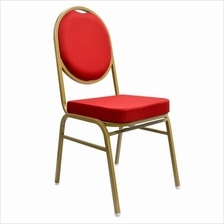 Banquet Chair, Banquet Seating (Gold Chrome Frame) BC-901E-G